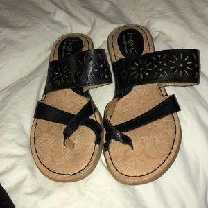 Never worn summer sandals